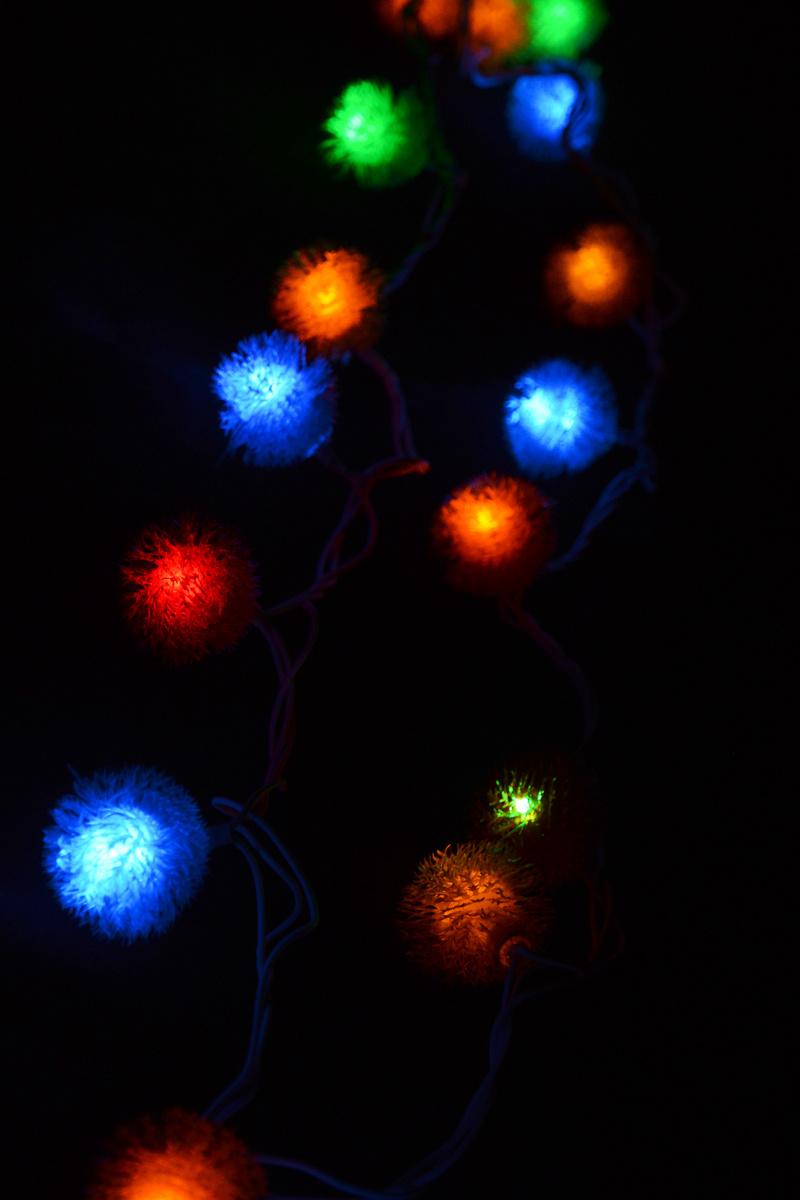 Электрогирлянда интерьерная Нить Winter Wings Светодиодная 30 ламп, 4,6 м, питание От сети 220В  #1
