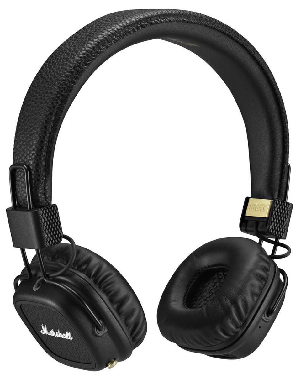 Беспроводные наушники Marshall Major II Bluetooth, черный #1