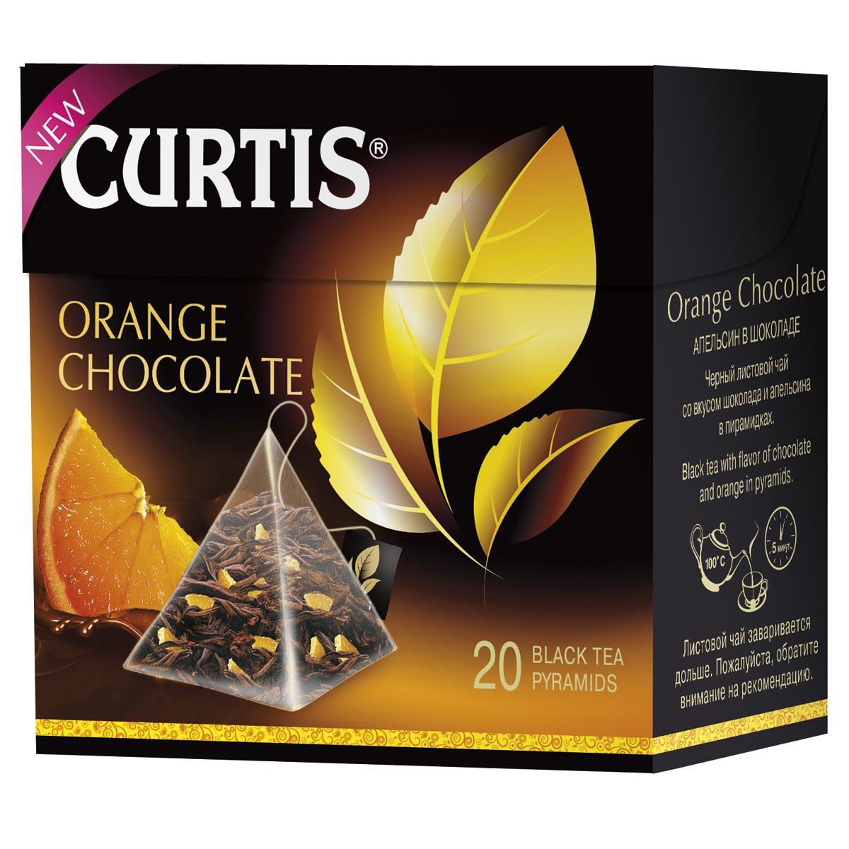 Curtis Orange Chocolate черный чай в пирамидках, 20 шт #1
