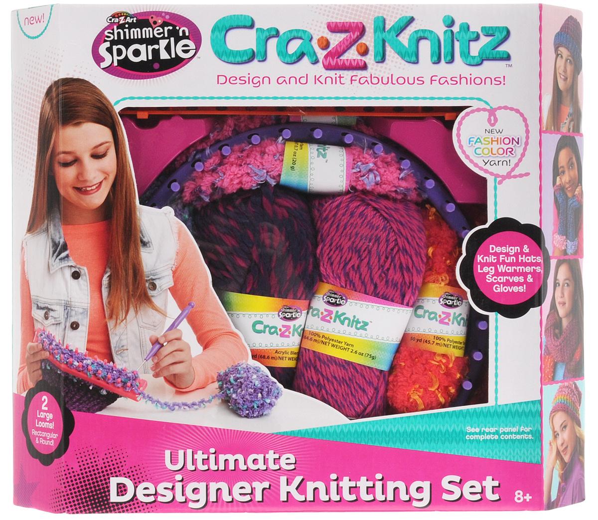 Cra Z Knitz набор для вязания вязальная станция купить в интернет