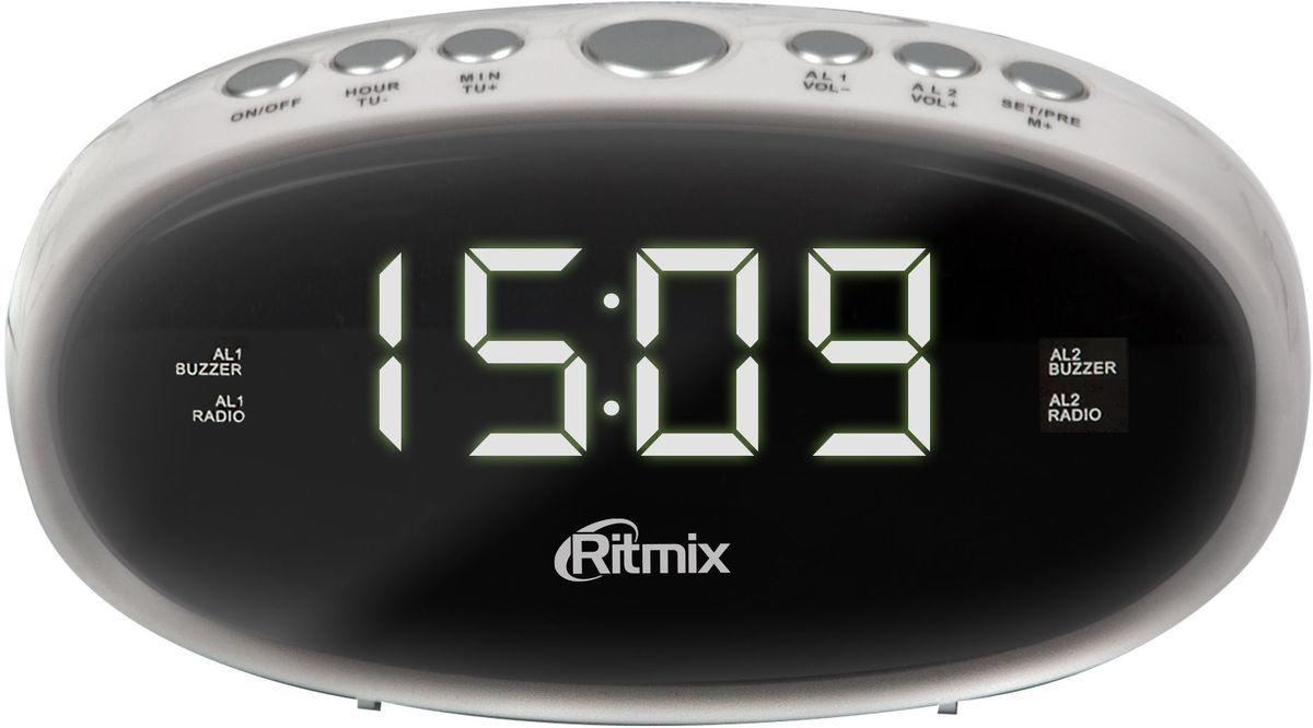Ritmix RRC-616, White радио-будильник #1