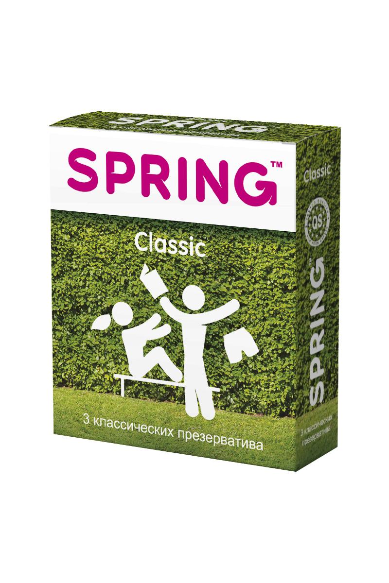 Презервативы SPRING™ Classic, классические, 3 шт. #1