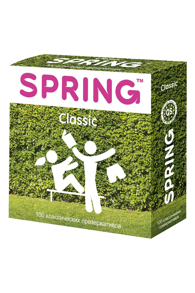 Презервативы SPRING™ Classcic, классические, 100 шт. #1