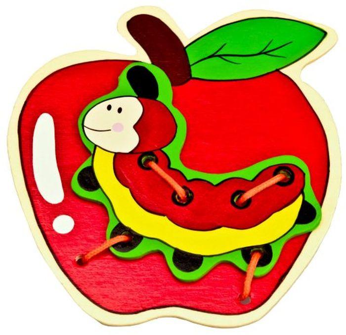 Mapacha Игра-шнуровка Яблоко #1
