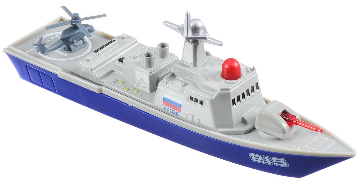 ТехноПарк Военный корабль инерционный #1