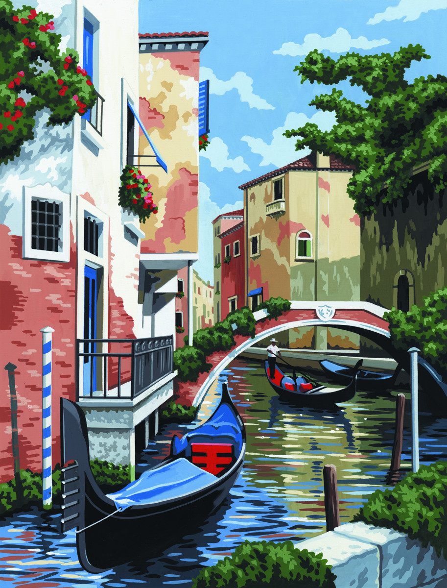 Royal & Langnickel Картина по номерам Венеция — купить в ...