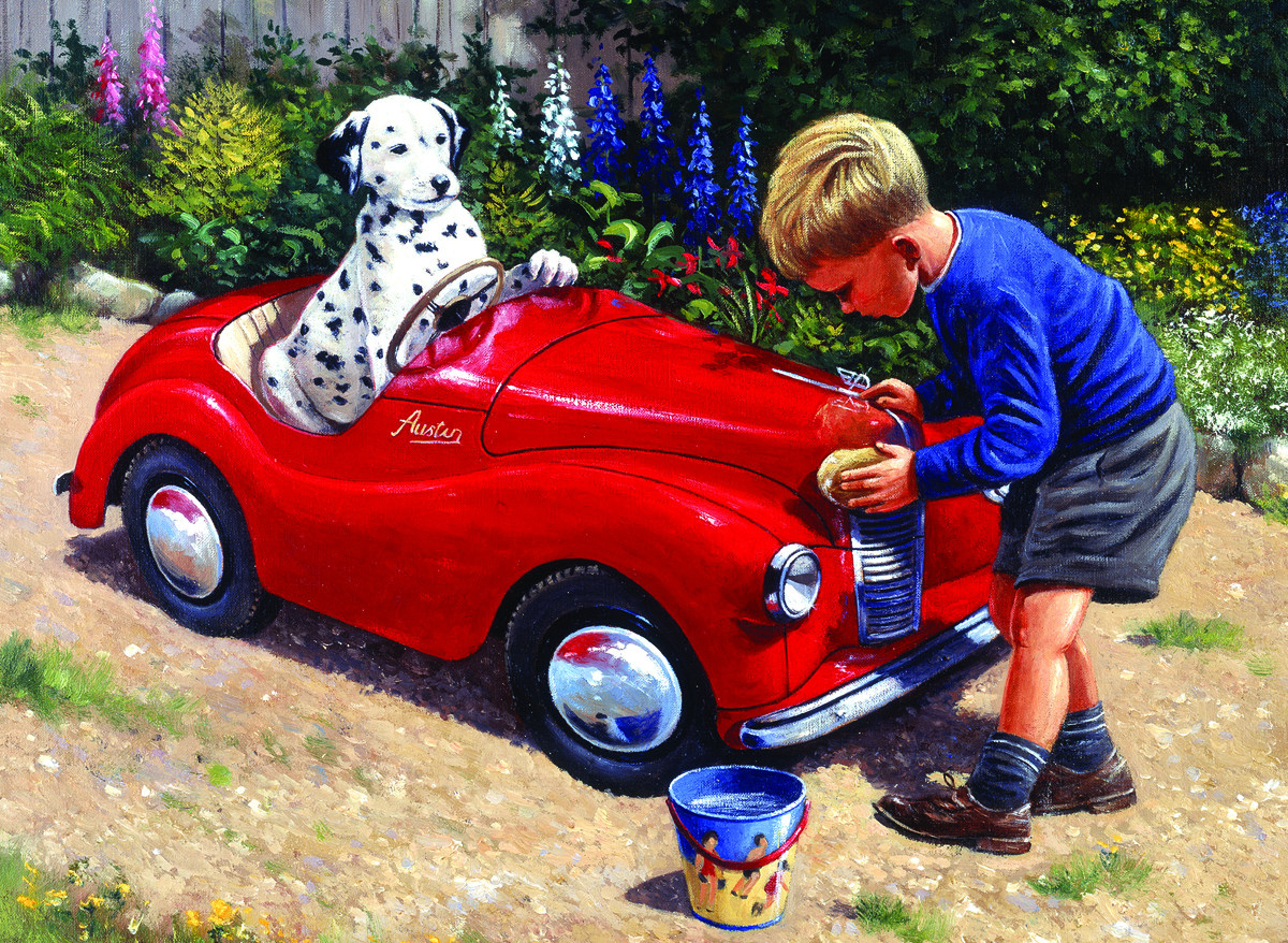 Royal & Langnickel Картина по номерам Мойка спорткара ...