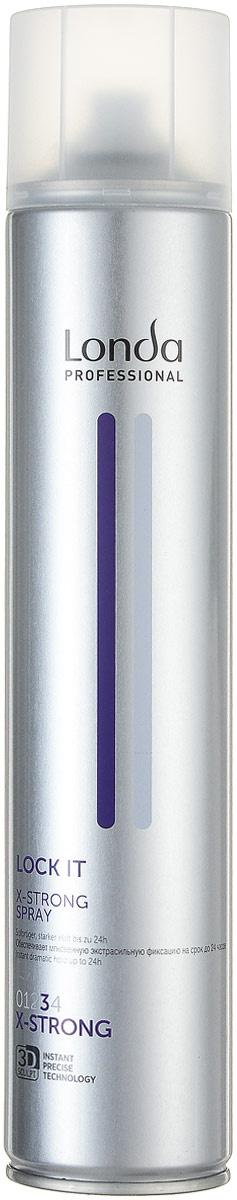 Londa Professional Lock It Лак для волос экстра сильной фиксации 500 мл  #1