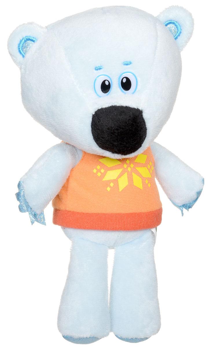 Мульти-Пульти Мягкая озвученная игрушка Медвежонок Белая Тучка 20 см  #1