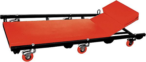 "Лежак ремонтный ""Matrix"", на колесах, 103 х 44 х 12 см #1"