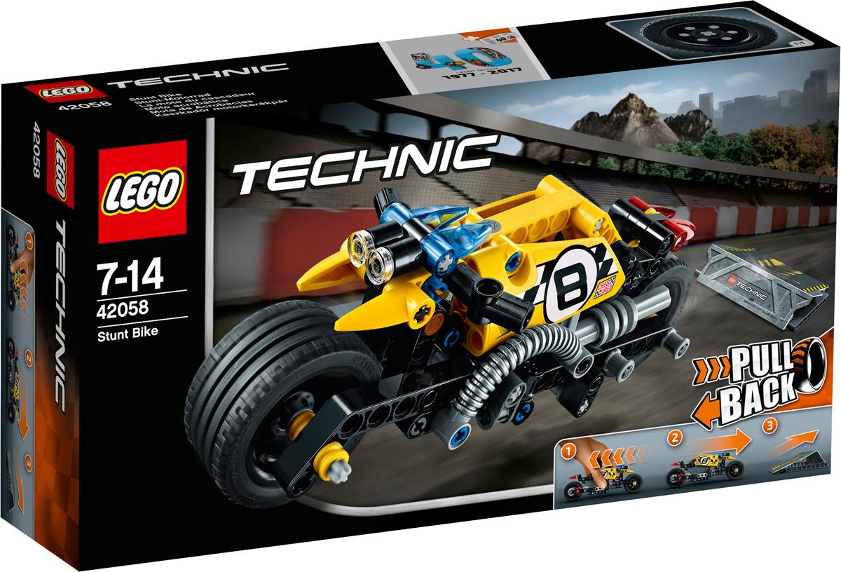 Конструктор LEGO Technic 42058 Мотоцикл для трюков #1