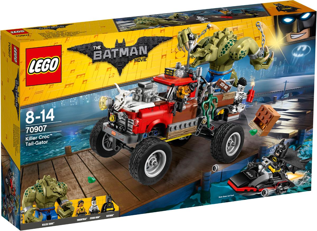 Конструктор LEGO Batman Movie 70907 Хвостовоз убийцы Крока #1