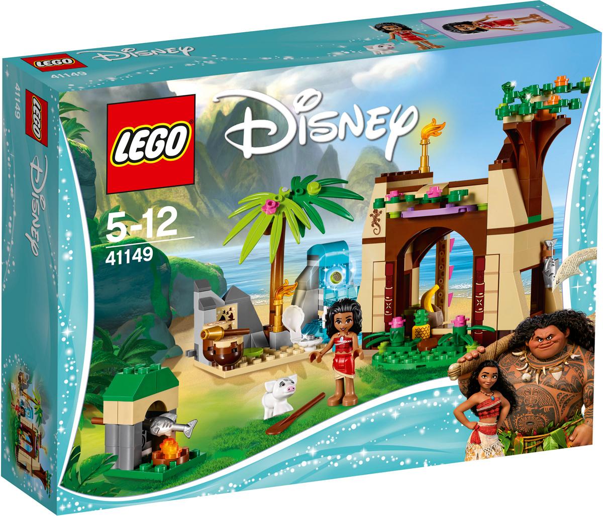 LEGO Disney Princess 41149 Приключения Моаны на затерянном острове Конструктор  #1
