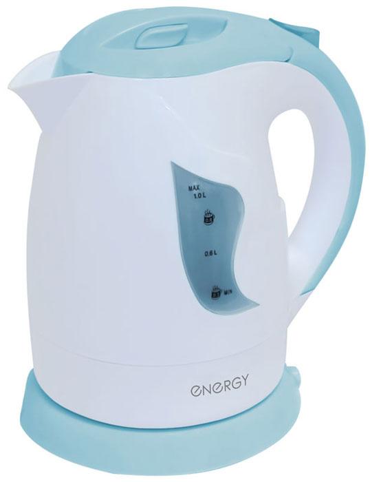 Электрический чайник Energy E-209, белый, синий #1