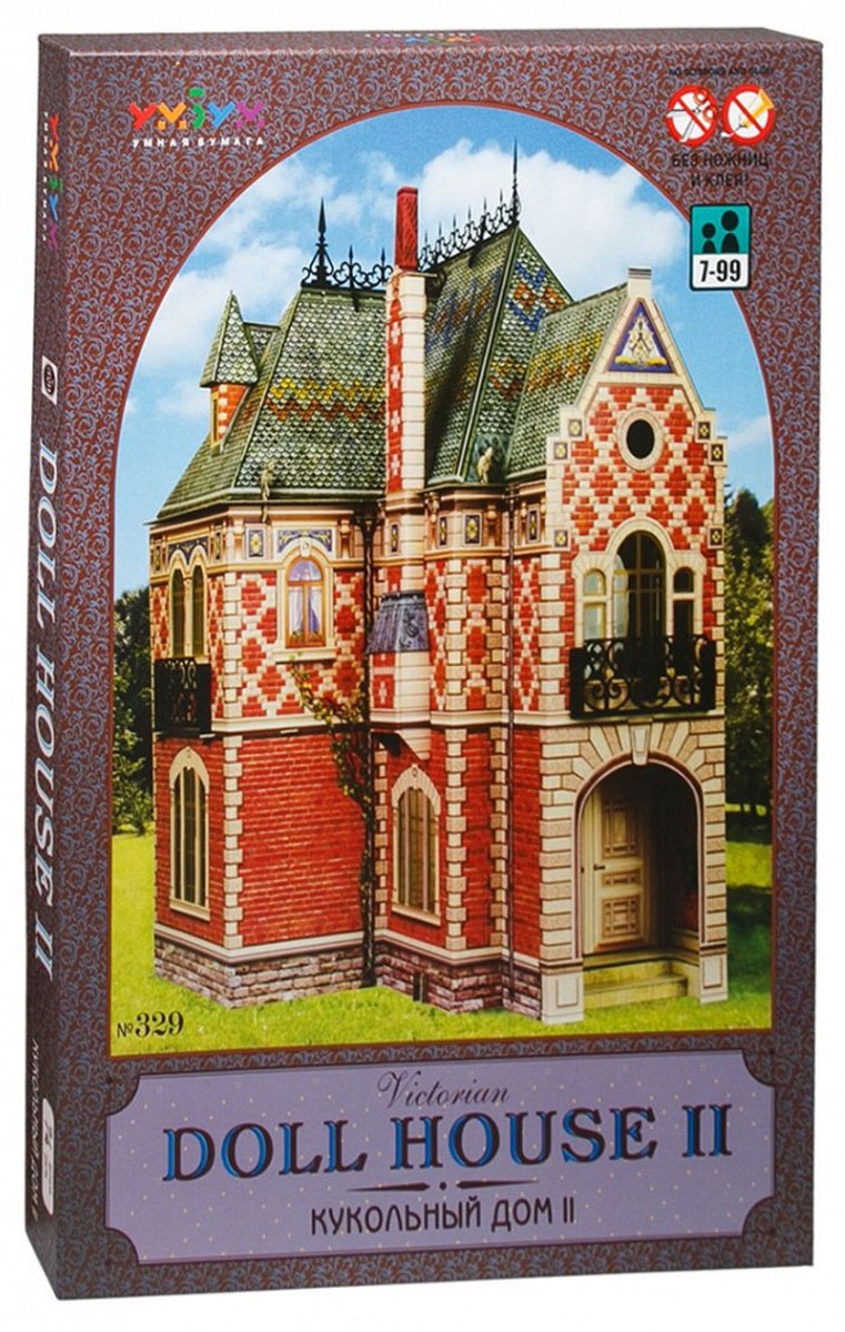 Умная бумага 3D пазл Кукольный дом 2 #1