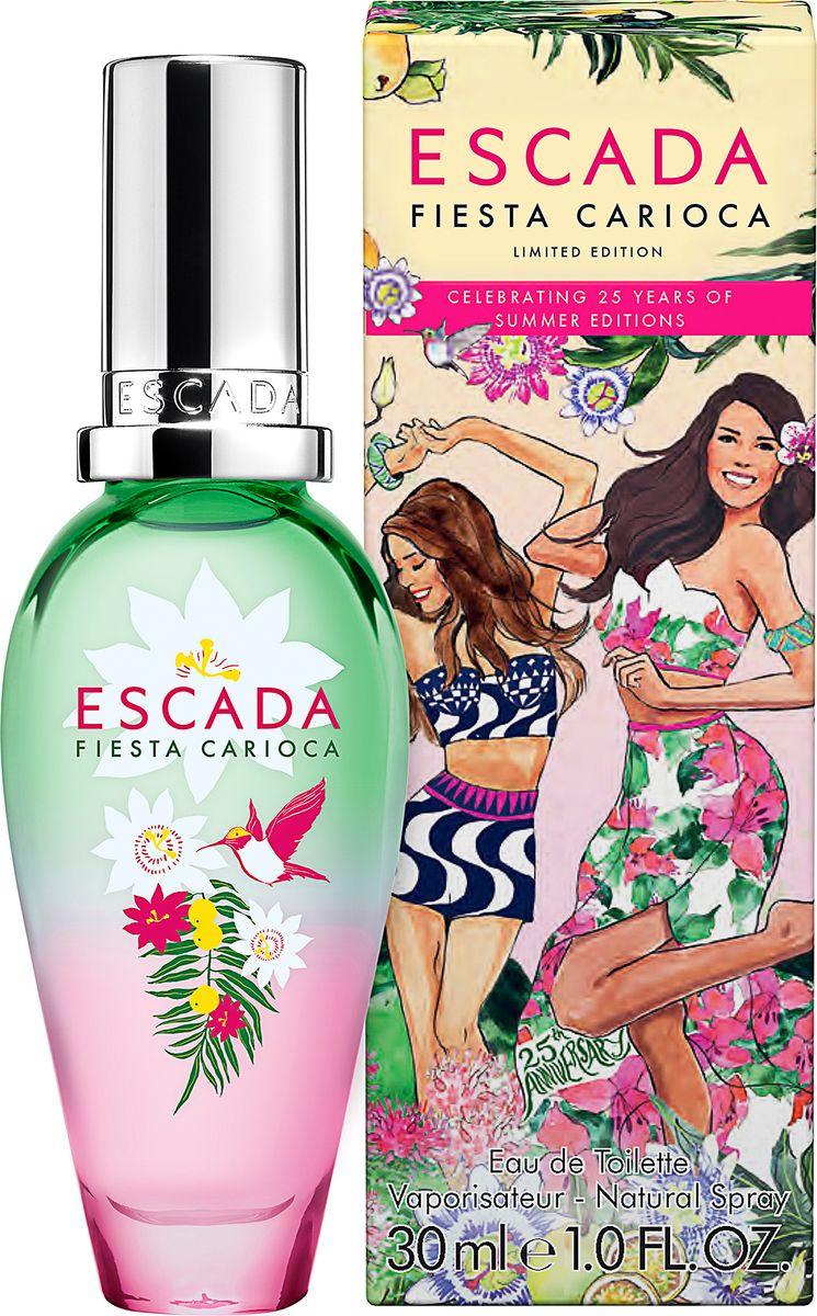 Escada Fiesta Carioca туалетная вода женская 30 мл купить в