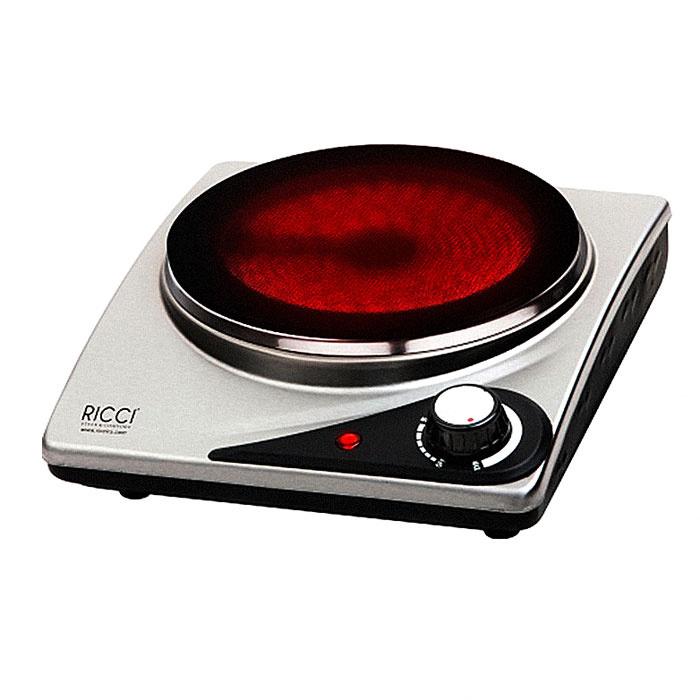 Индукционная Настольная плита Ricci RIC-3106i, серебристый, черный  #1