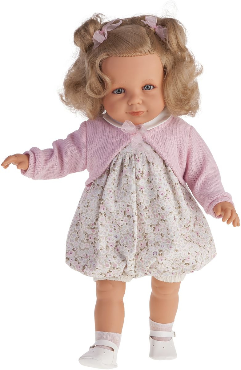 Juan Antonio Кукла Нина в розовом 55 см #1