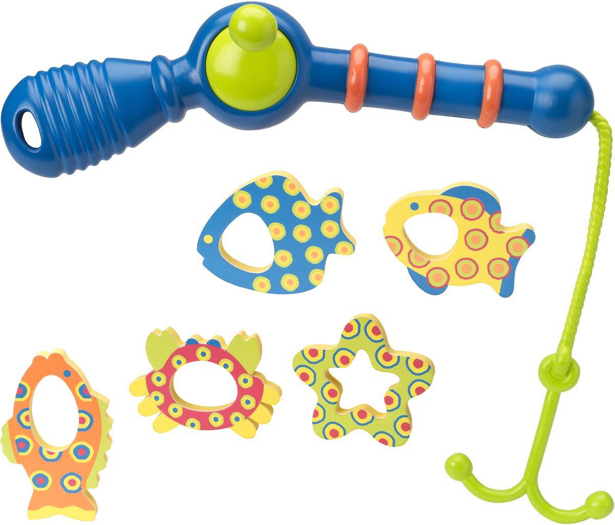 Набор игрушек для ванной Alex Поймай рыбку, от 2 лет #1