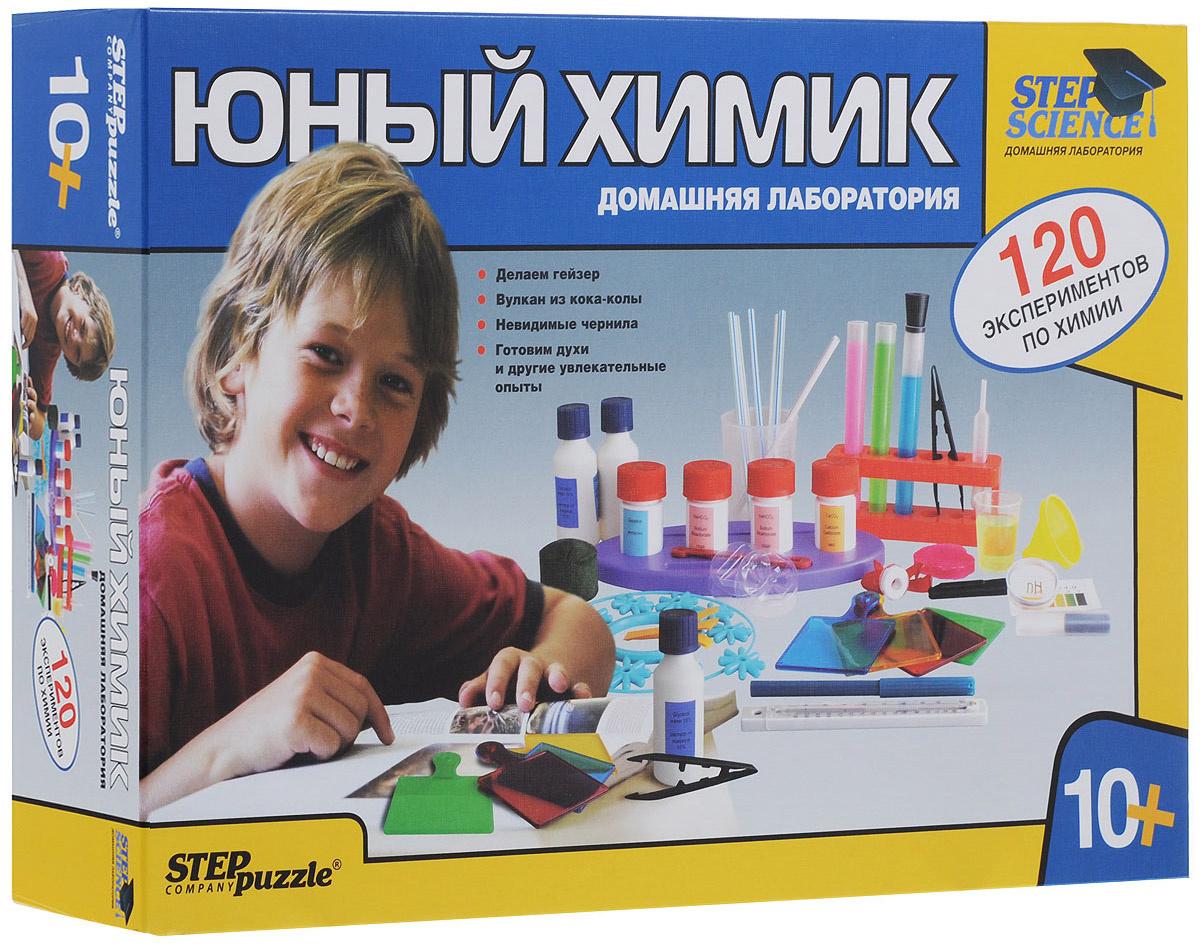 """Набор для исследований """"Юный химик. Домашняя лаборатория""""  #1"""