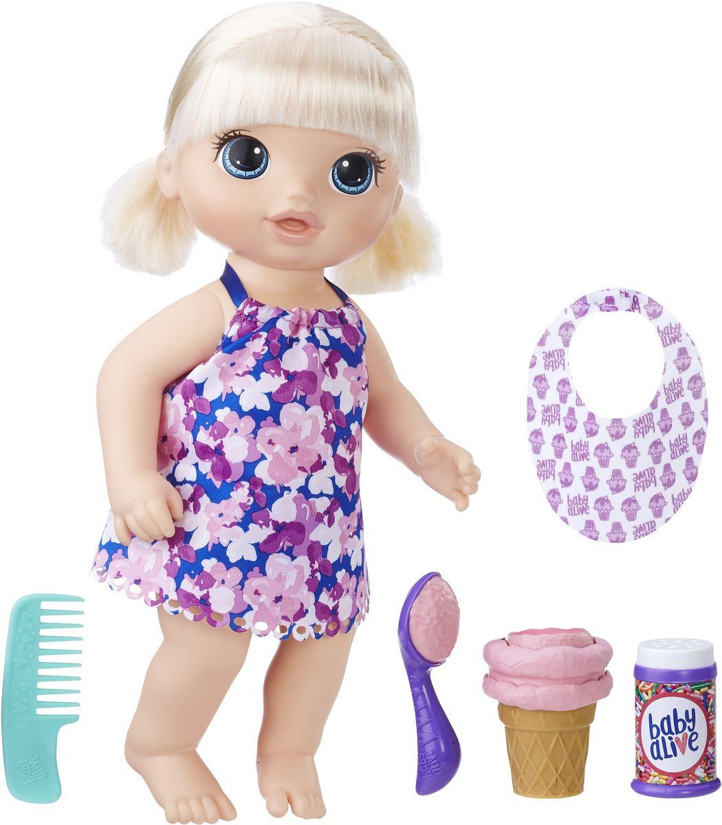Baby Alive Кукла Малышка с мороженым #1