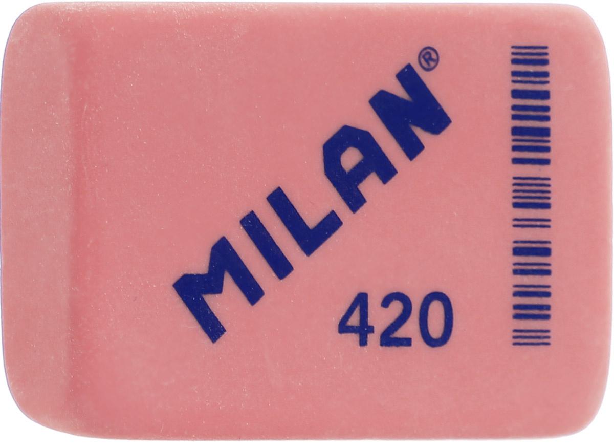 Milan Ластик 420 прямоугольный цвет красный #1