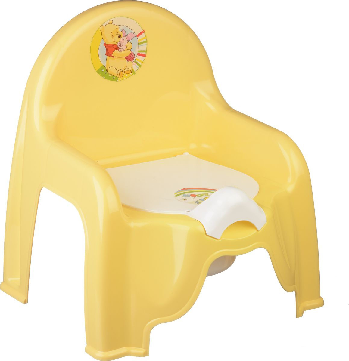 Disney Горшок-стульчик детский цвет банановый #1