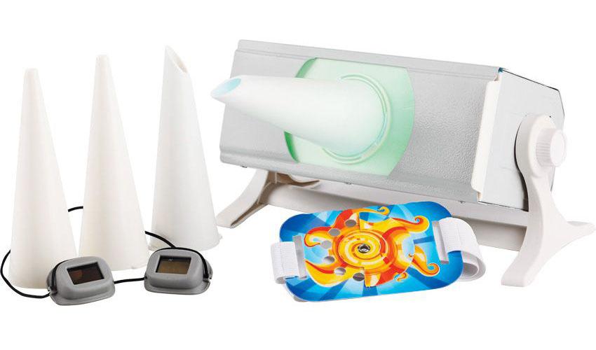 Облучатель ультрафиолетовый бактерицидный для местного облучения кварцевая лампа Солнышко ОУФб-04  #1