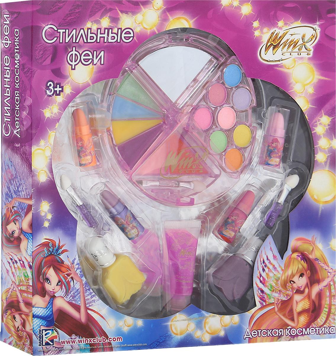 Winx Club Набор детской декоративной косметики Стильные феи  #1