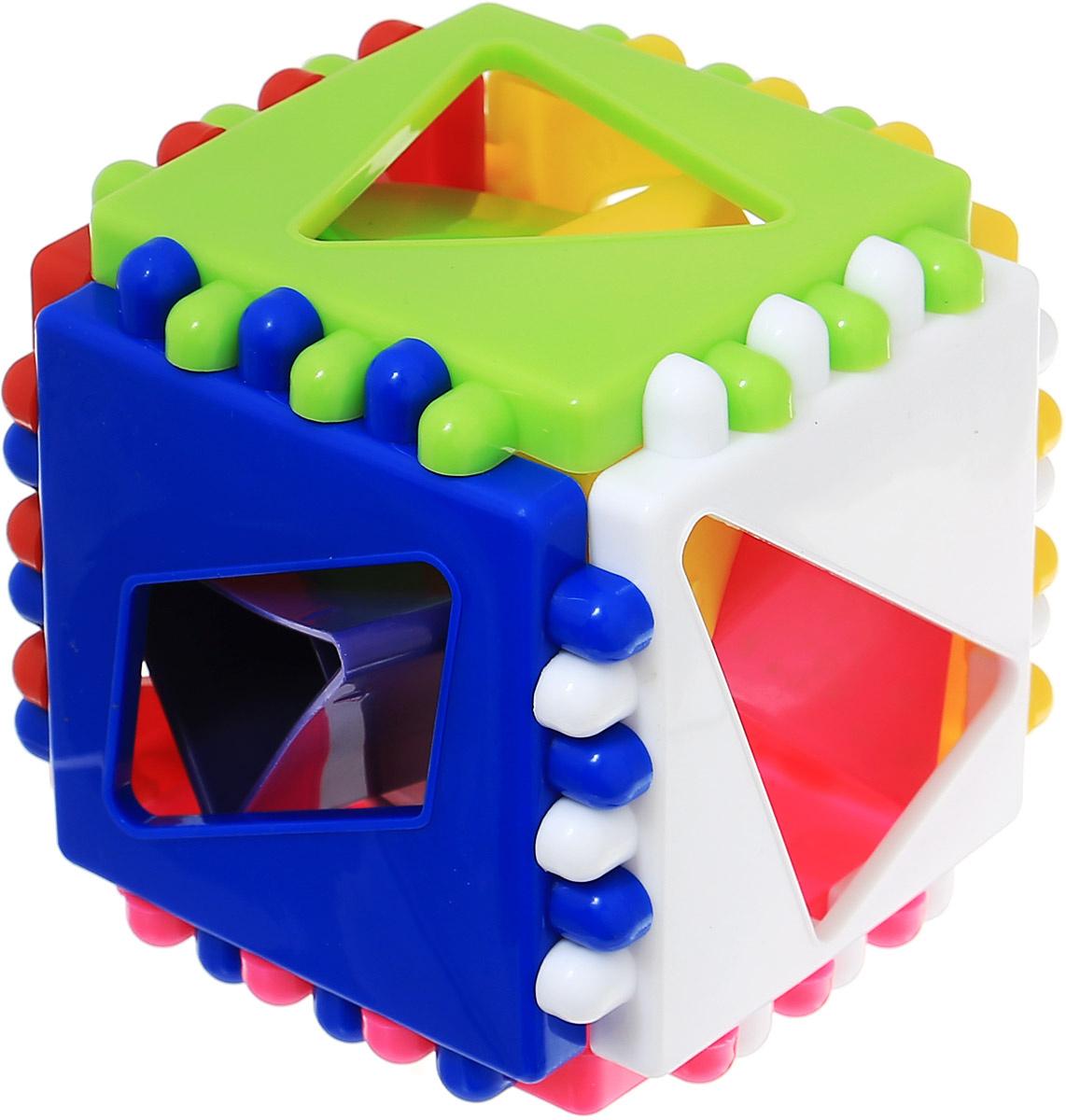 Развивающая игра-сортер Stellar Логический кубик, арт. 01314 #1