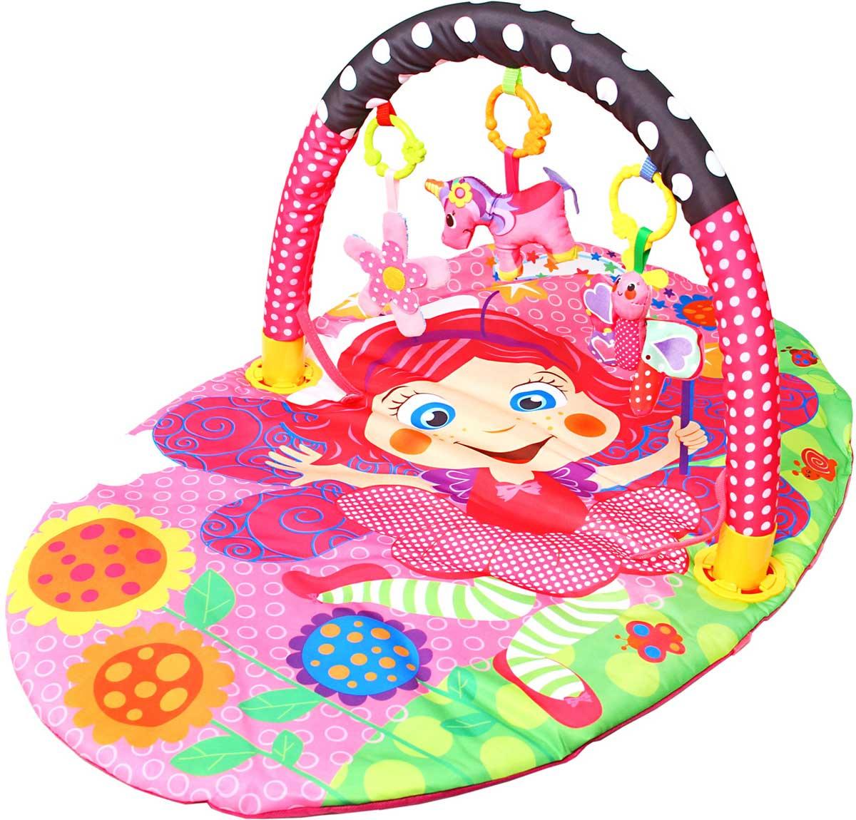 Ути-Пути Развивающий коврик Цветочная принцесса #1