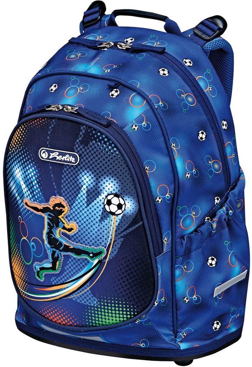 dd63a7fa7fd8 Herlitz Рюкзак Bliss Soccer — купить в интернет-магазине OZON.ru с быстрой  доставкой
