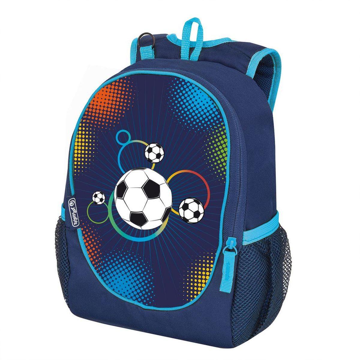 c6ba3b9169c0 Herlitz Рюкзак школьный Rookie Soccer — купить в интернет-магазине OZON.ru  с быстрой доставкой