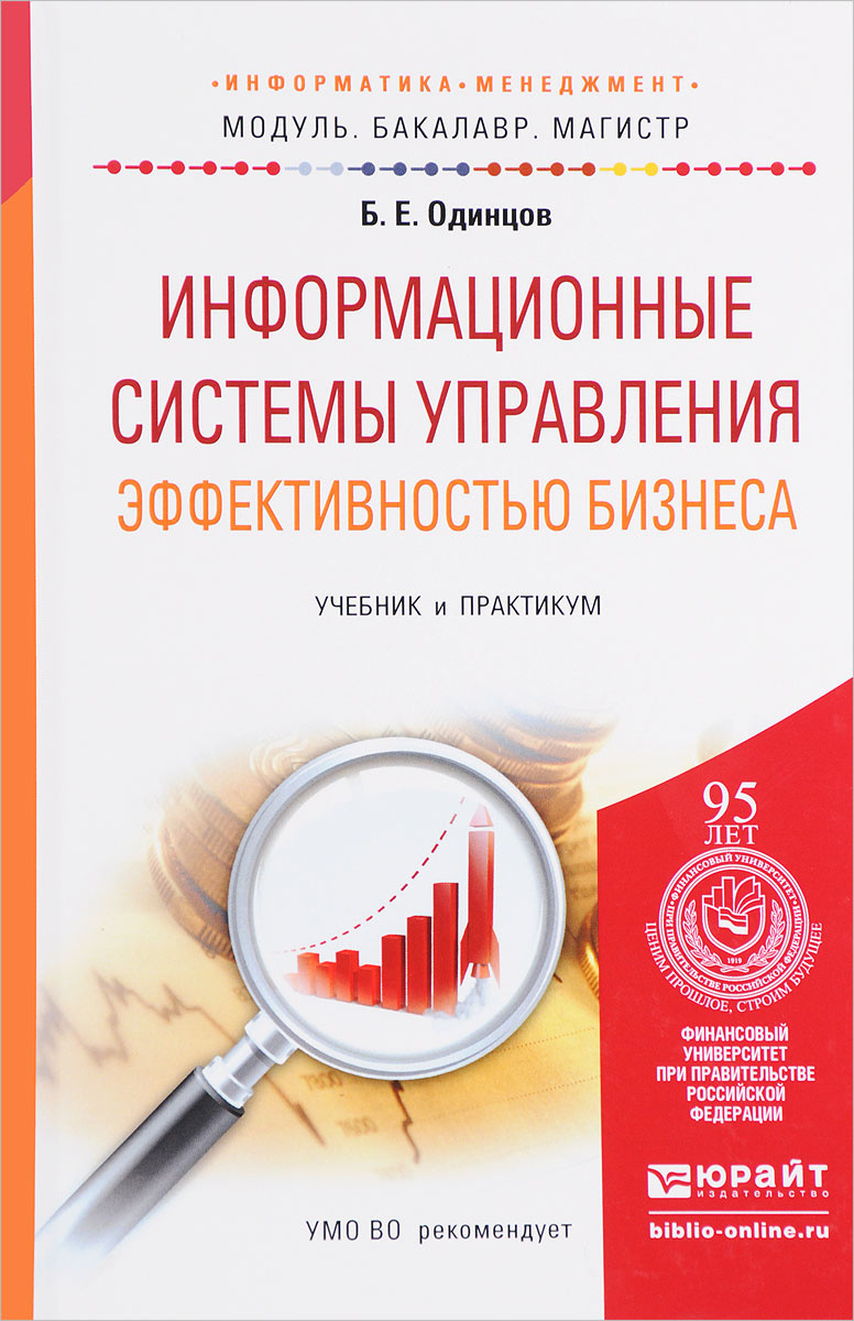 Информационные системы управления эффективностью бизнеса. Учебник и практикум | Одинцов Борис Ефимович #1
