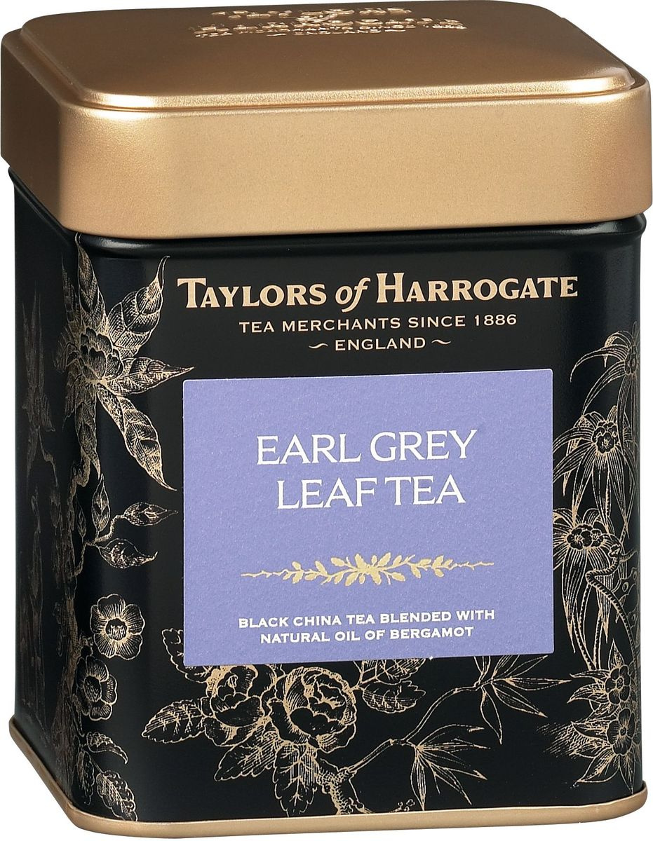 "Taylors of Harrogate ""Эрл Грей"" чай черный листовой, 125 г #1"