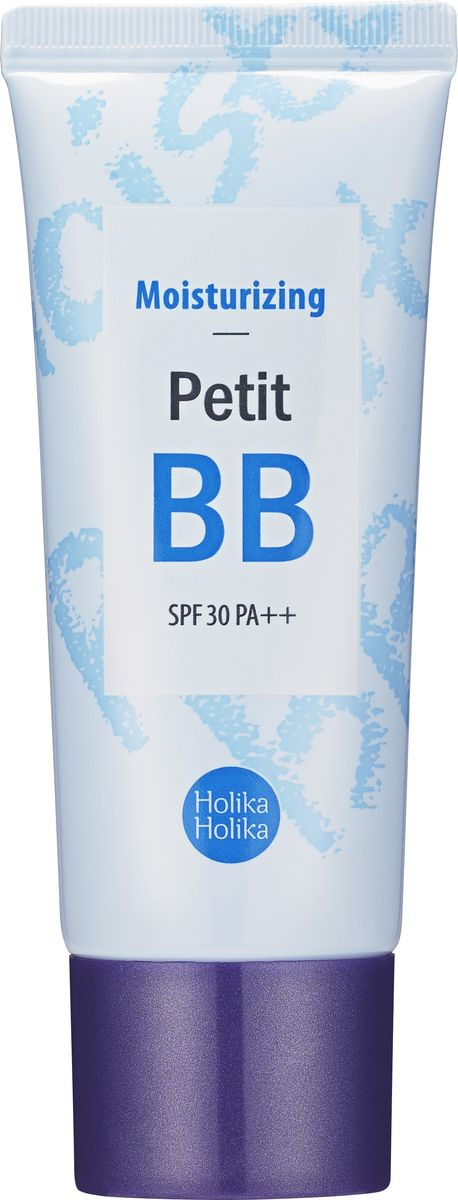Holika Holika ББ-крем для лица увлажняющий тон 04 натуральный беж Petit BB Moisturizing SPF 30 PA++ ББ #1