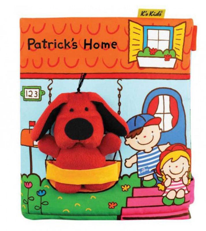 K's Kids Книжка-игрушка В гостях у Патрика #1