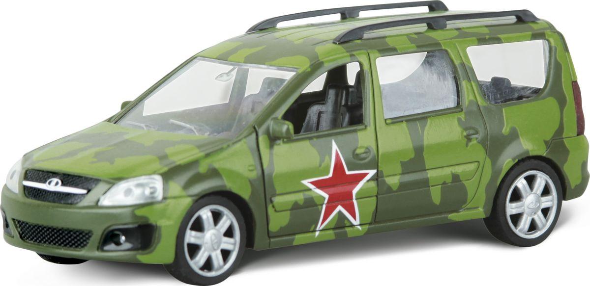 Autotime Модель автомобиля Lada Largus Армейская #1