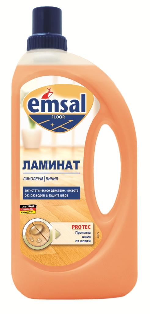 """Средство для ухода за ламинированным полом """"Emsal"""", 1 л #1"""