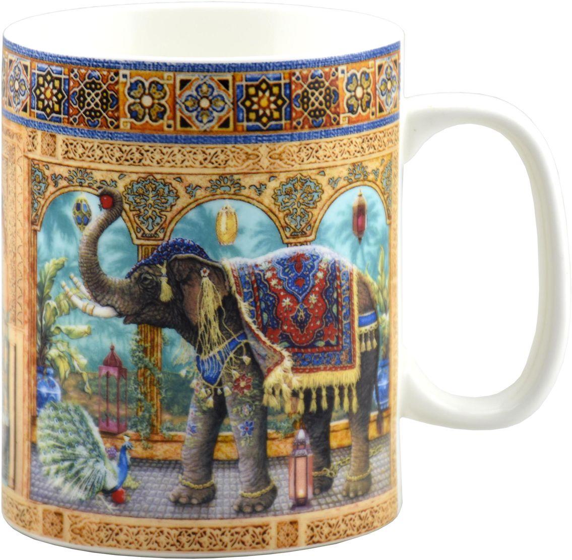 """Кружка большая подарочная """"Marrakesh"""", 700 мл, костяной фарфор  #1"""
