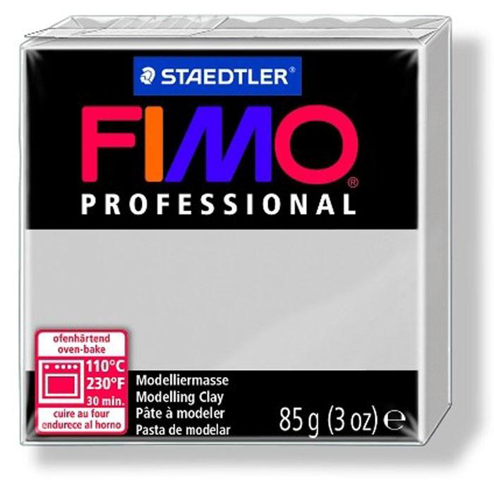 """Глина полимерная Fimo """"Professional"""", запекаемая, цвет: серый дельфин, 85 г  #1"""