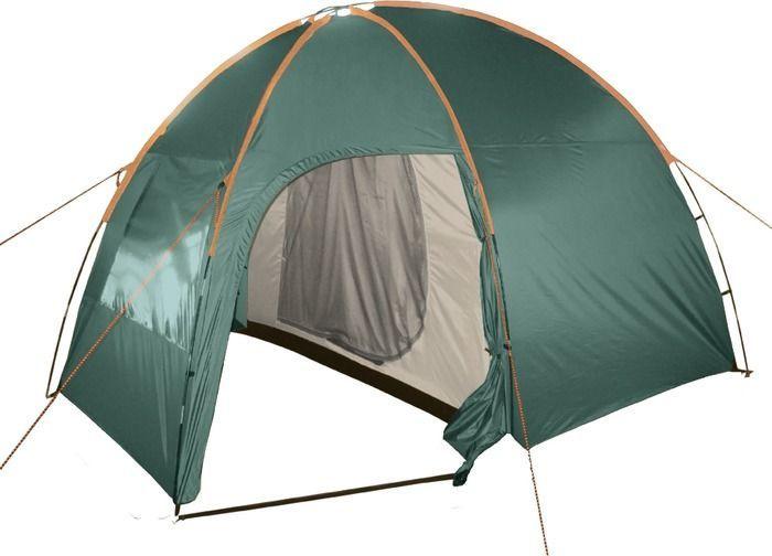 """Палатка 4-местная TOTEM Палатка кемпинговая Тотеm """"Apache 4"""", цвет: зеленый. TTT-007,09  #1"""