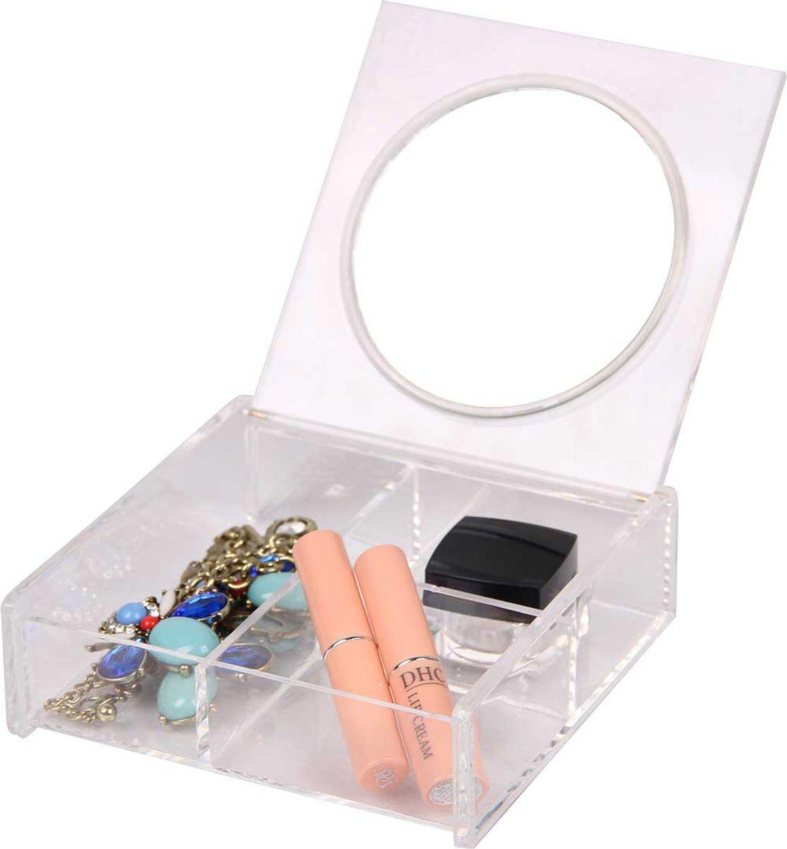 Органайзер для косметики HomeMaster, SO01592, 15 х 15 х 5 см #1