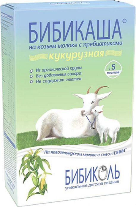 Бибикаша каша кукурузная на козьем молоке, с 5 месяцев, 200 г  #1