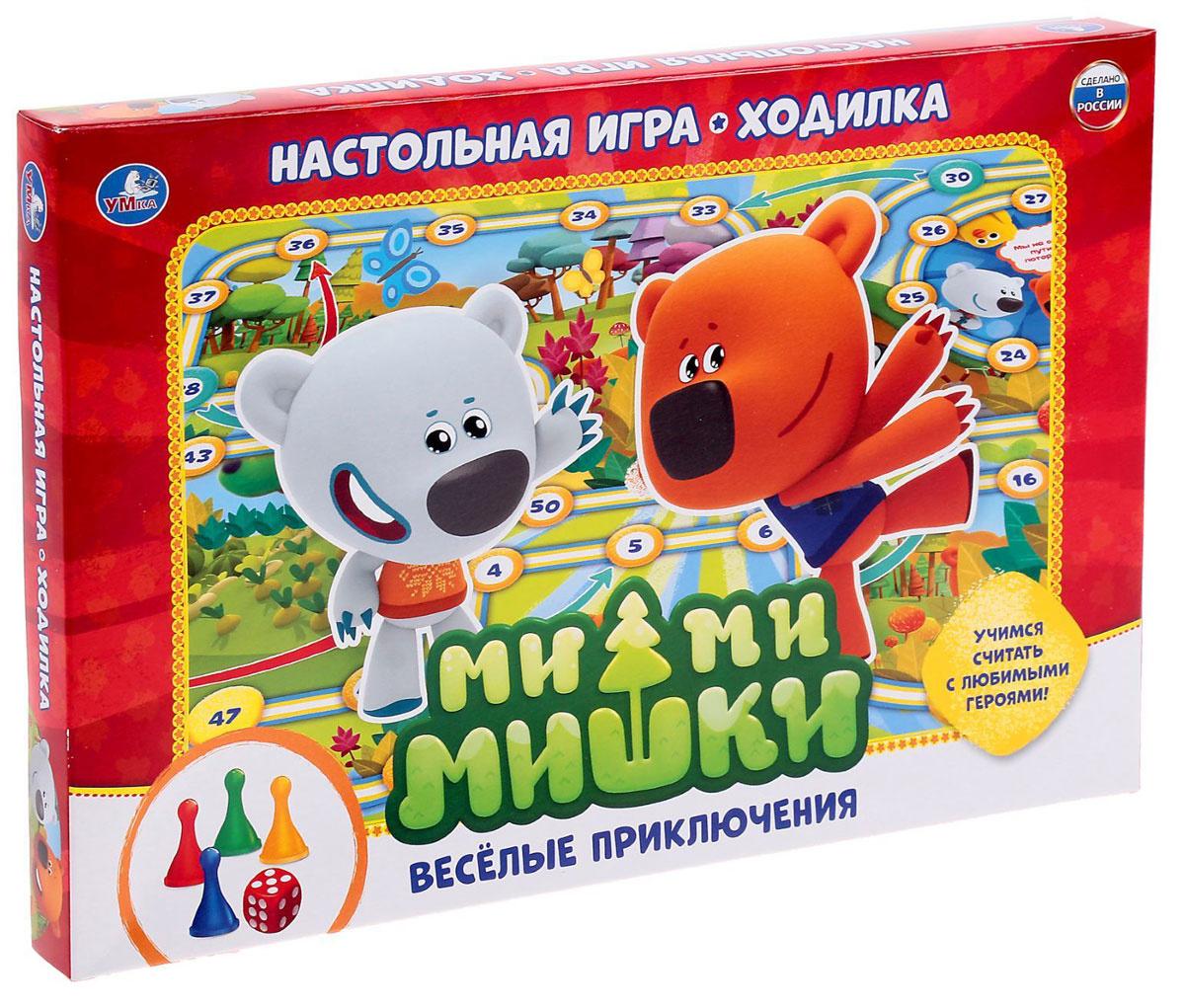 Умка Настольная игра Ми-Ми-Мишки Веселые приключения #1
