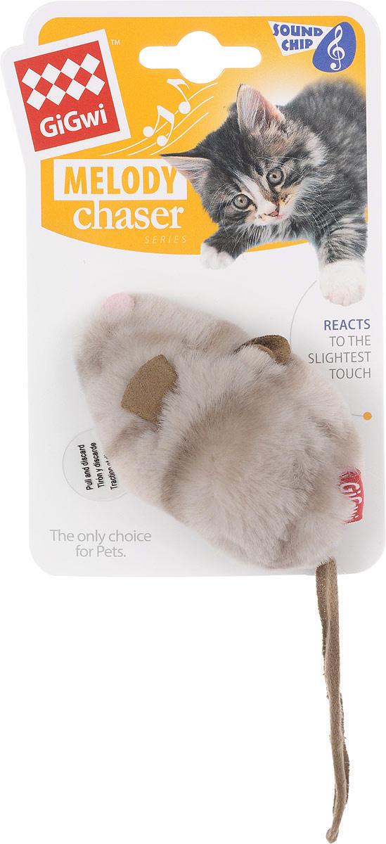 """Игрушка для кошек GiGwi """"Мышка"""", с электронным чипом, длина 9 см. 75377  #1"""