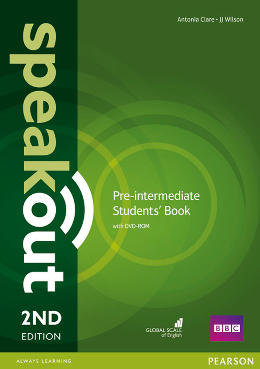 Speakout: Pre-Intermediate: Student's Book (+ DVD-ROM) | Клэр Антониа, Уилсон Джей Джей  #1