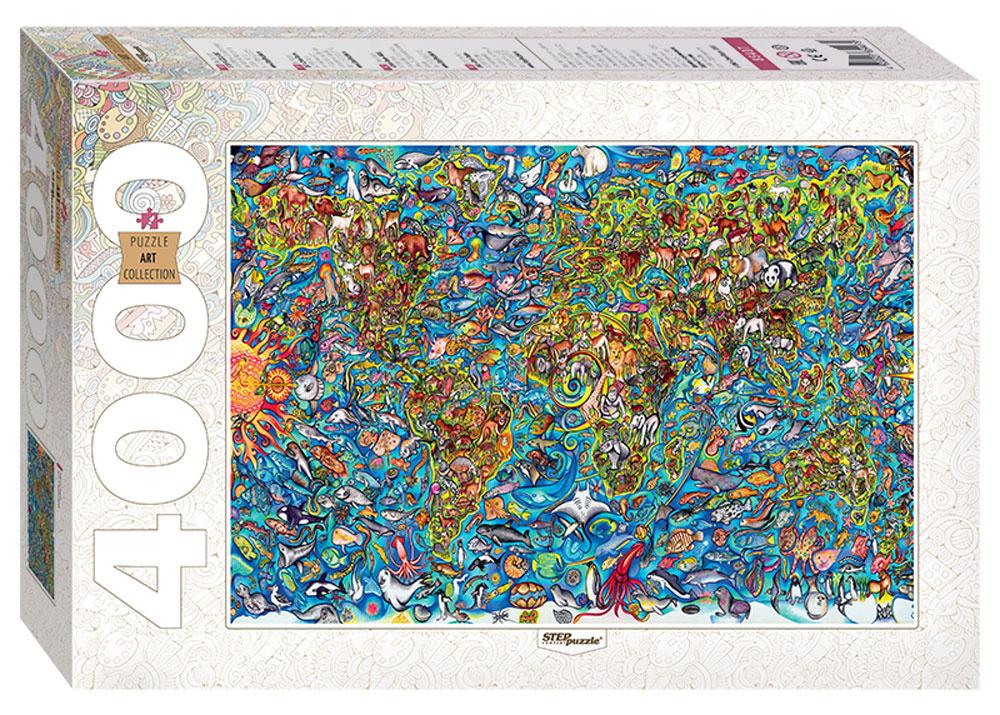 927263b1b380b Step Puzzle Пазл Карта мира — купить в интернет-магазине OZON с быстрой  доставкой