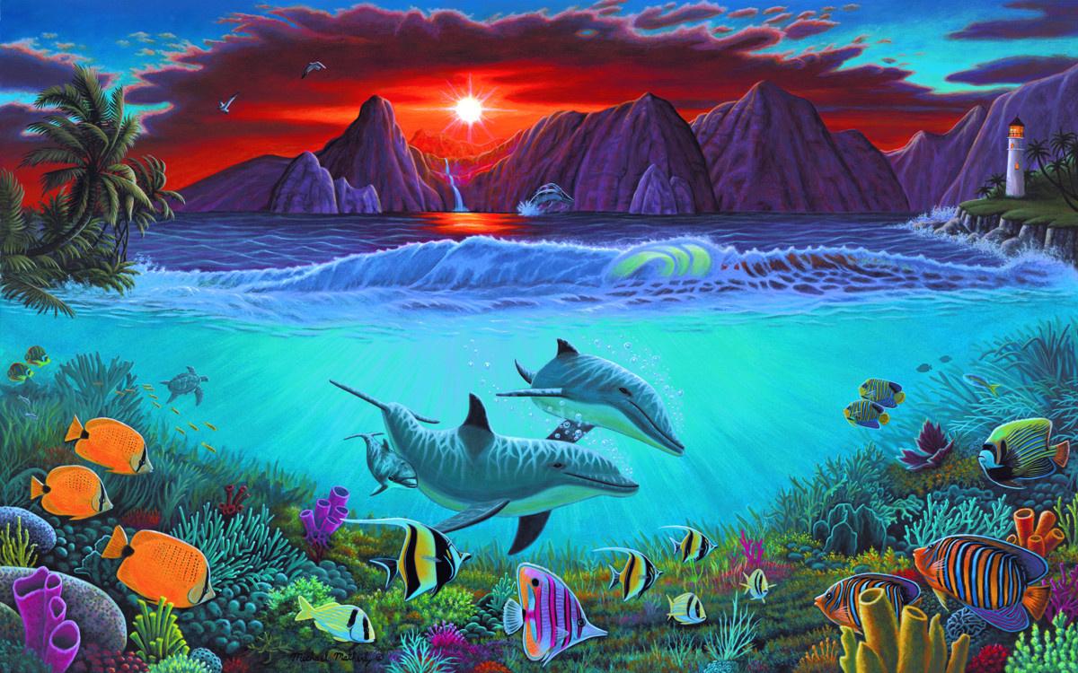 Royal & Langnickel Картина по номерам Жизнь океана ...