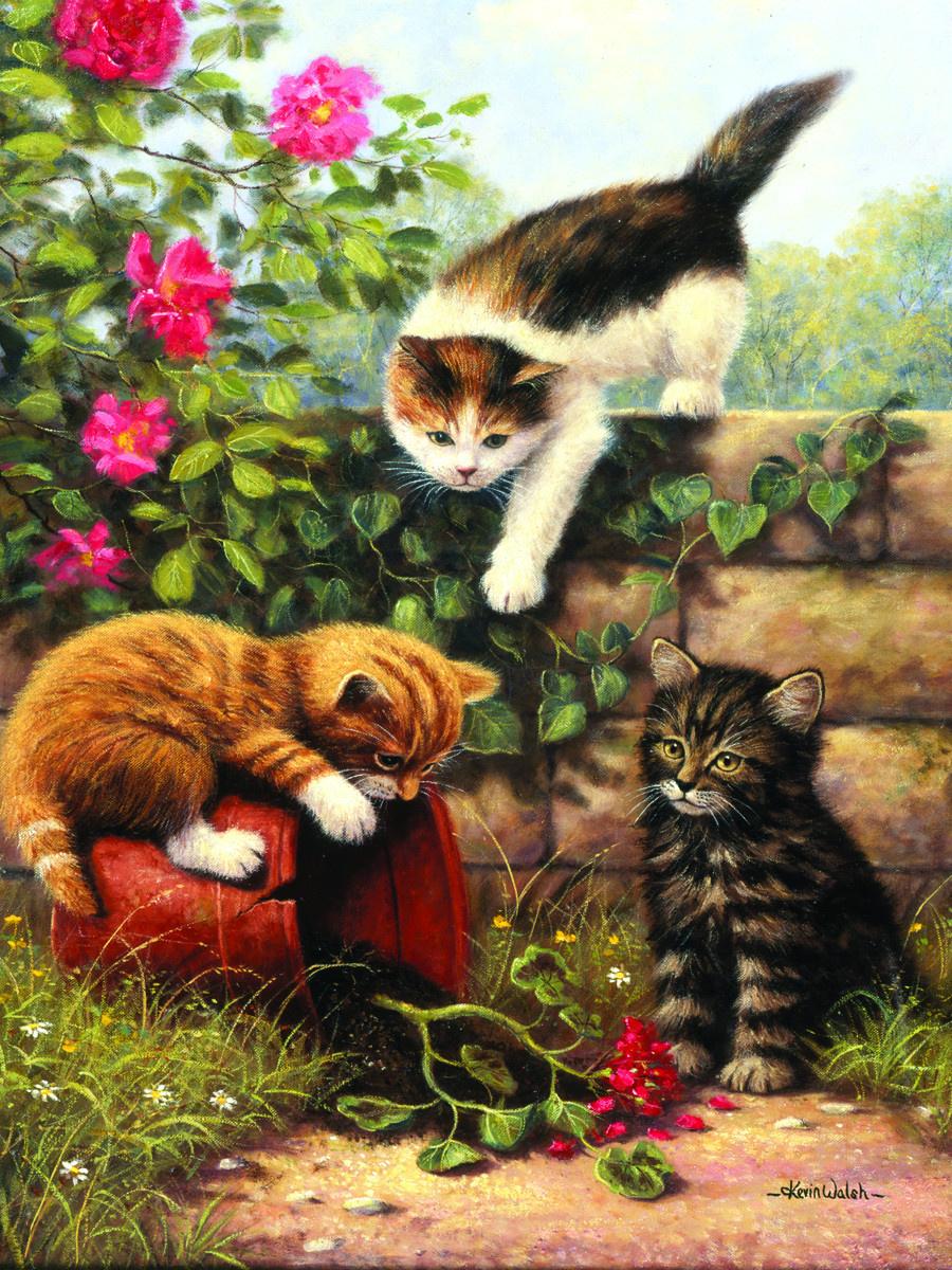 Royal & Langnickel Картина по номерам Играющие котята ...